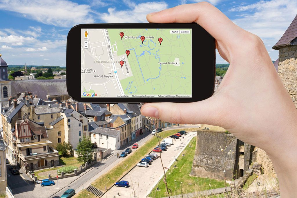 Stadt GPS Schatzsuche beim Kinderfest