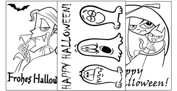 halloween party karten